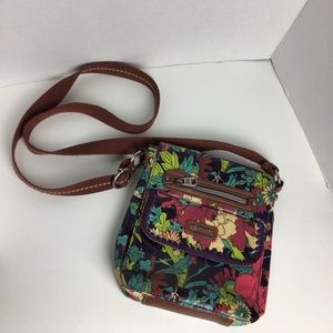 Sakroots crossbody purse boho floral